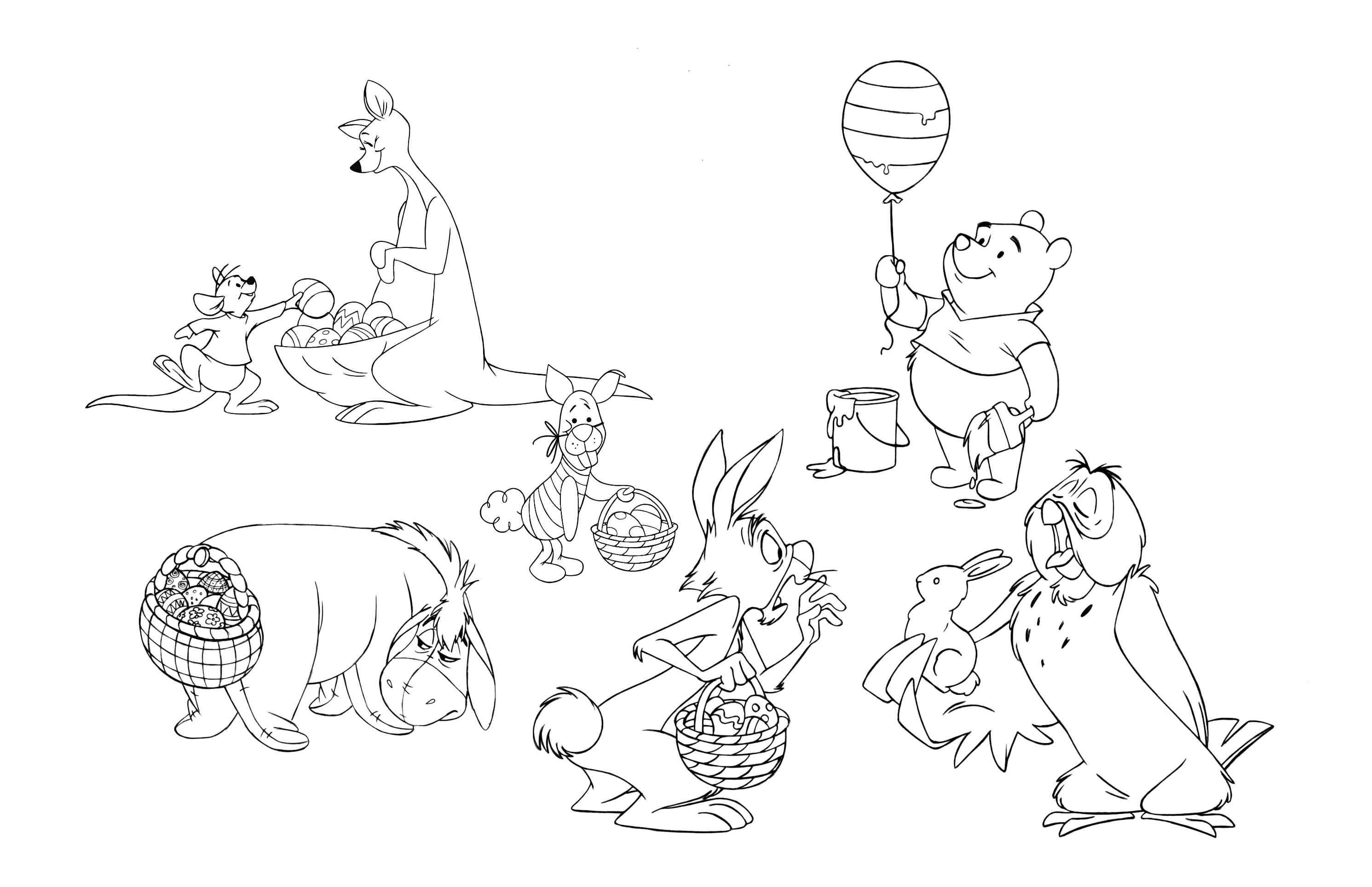 Celebrating Easter Pooh Bear Style Mommy Lok Mommylok