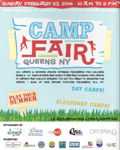 Queens Camp Fair 2014